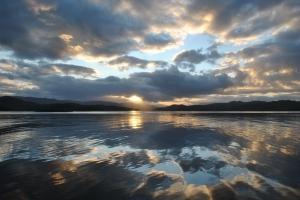 Alaskan Summer Sunset